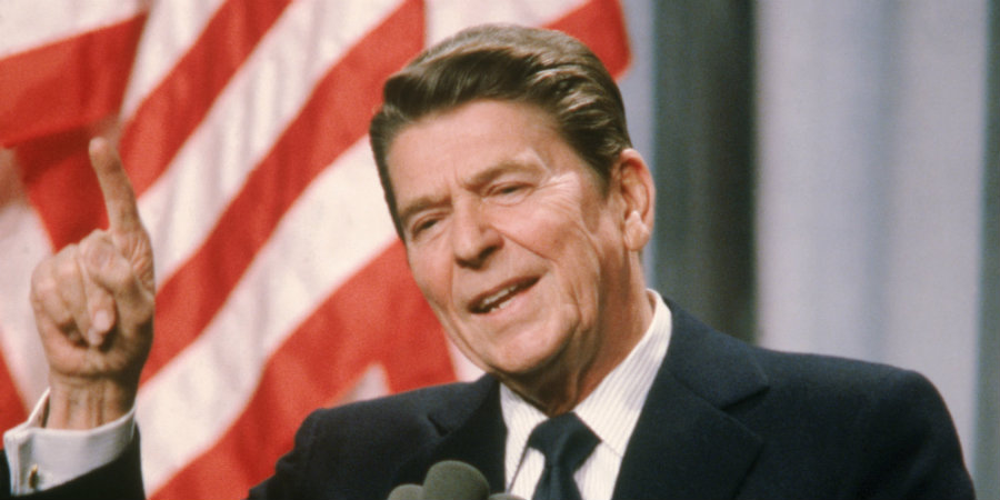 Obama misquotes Reagan to justify his agenda
