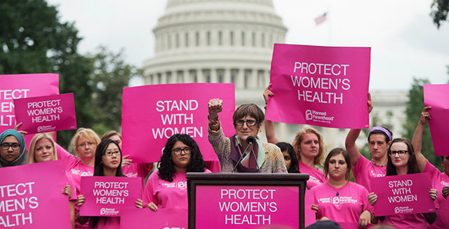 Planned Parenthood is fighting hard to keep its hands on your money