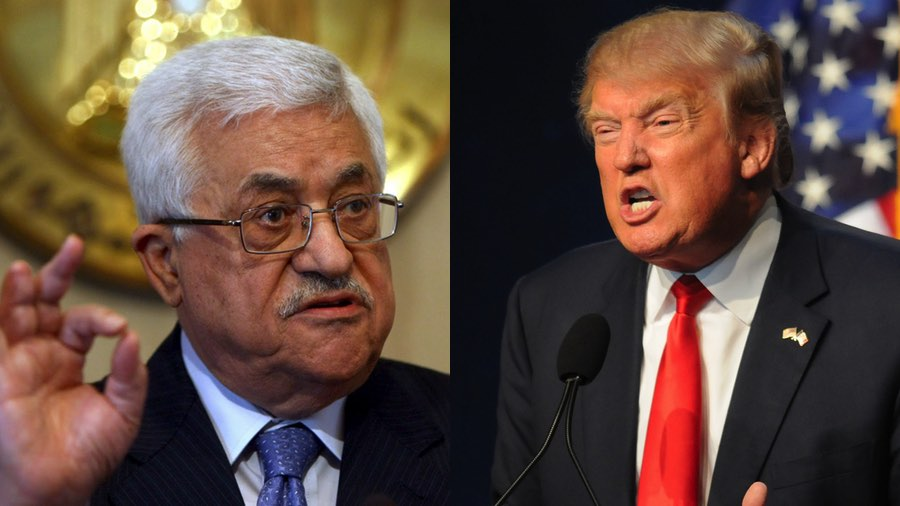 Palestinian leader says Trump does not have the balls to move embassy to Jerusalem