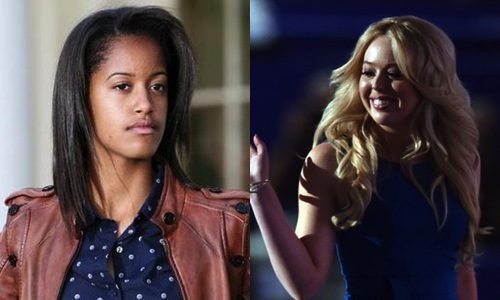 No contest between Tiffany Trump and Malia Obama