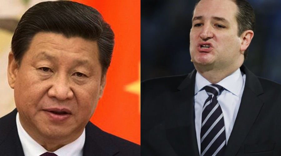 Ted Cruz says America is done doing what China says