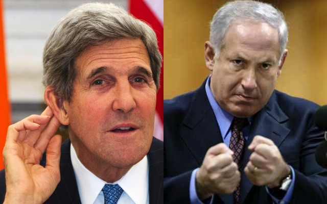 Israel has harsh message for john kerry