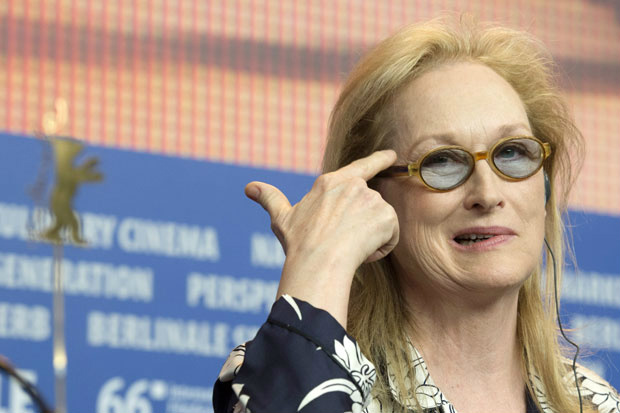 Meryl Streep trashes Trump and gets bad news