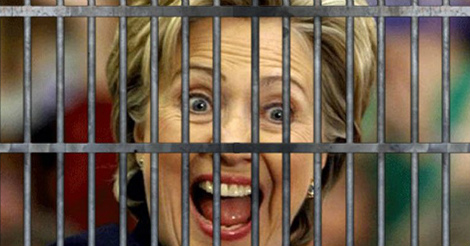 Hillary might really be going to jail