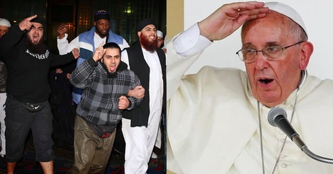 Pope tries to reason with Muslims, but gets a rude wake-up call