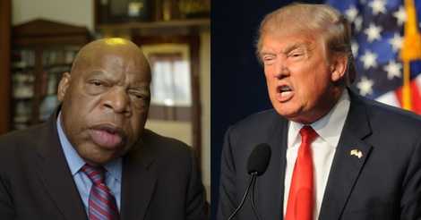 Trump has had enough of John Lewis and other calling him illegitimate
