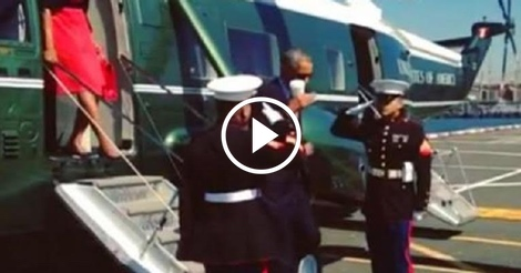 Remember when Obama dishonored Marines with a cup