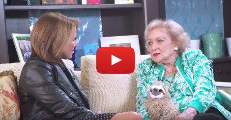 Betty White shocks Katie Couric with her response to Trump