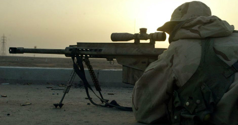Sniper takes out three ISIS terrorists with one bullet