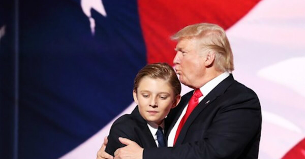 New attack on Barron Trump crosses the line