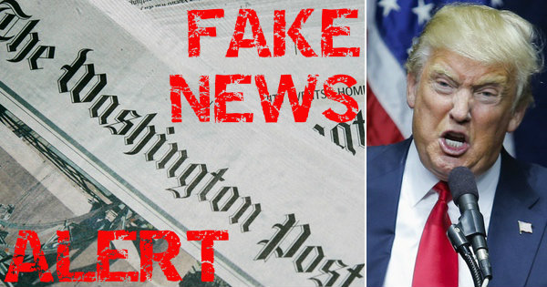 Washington Post Forced to APOLOGIZE to Trump for FAKE NEWS