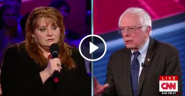 Texas Business Owner Says She Can't Afford Obamacare. Bernie Sanders' Response Leaves Everyone Speechless
