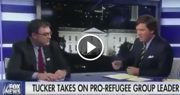 Tucker Can't Get a Straight Answer From Liberal Who Says We MUST Welcome Refugees