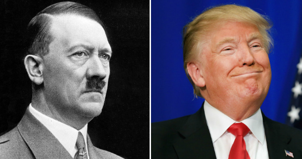 Next Time Someone Calls Trump 'Hitler' Show Them This...