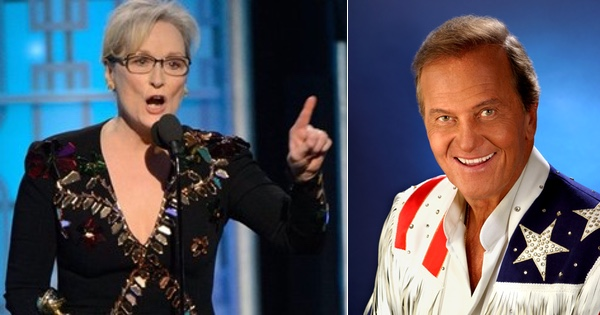 Pat Boone Drops TRUTH BOMB on Meryl Streep and Hollywood Trump-Haters