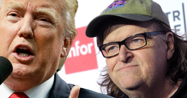 Idiot Liberal Filmmaker MICHAEL MOORE Makes Ridiculous Demand of Trump