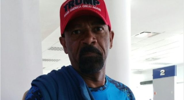 Liberal WINDBAG Told Sheriff Clarke to Take Off His TRUMP Hat... His Response Was EPIC