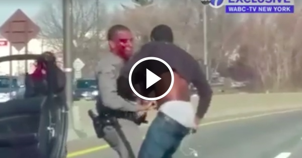 WATCH Hero Cowboys Subdue THUG Who Dragged Police Officer Down Highway