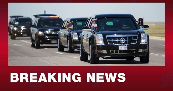 Trump Motorcade ATTACKED in Florida; MASSIVE Manhunt Underway