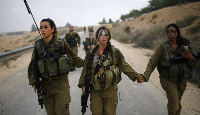 BADASS Israeli Military Girls Take the BATTLE to Muslim Terrorists
