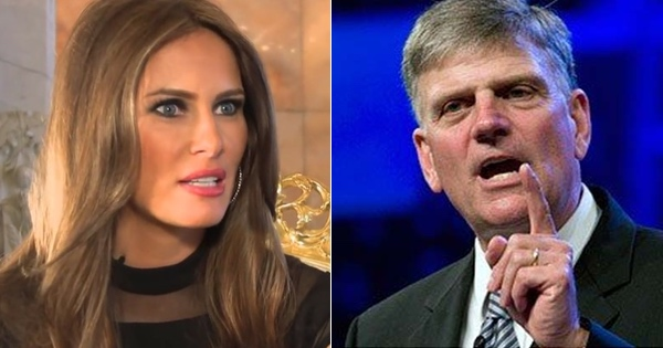 Franklin Graham Addresses Melania Trump's Faith. Is She a Sincere Christian?