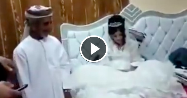 VIDEO: 80-Year-Old Muslim Man Marries 12-Year-Old Girl... This is SICK