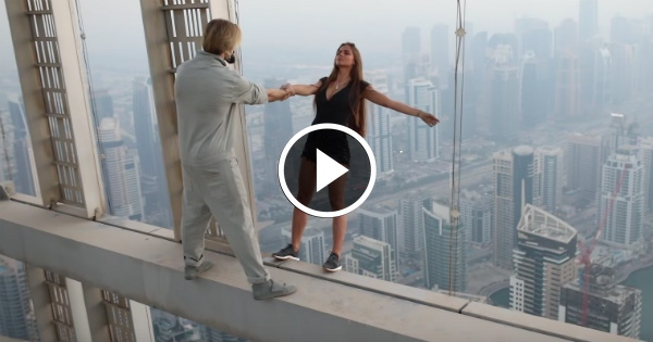 Supermodel Called In by Police After Dangling From Skyscraper