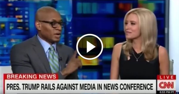 Watch Liberal CNN Guest LOSE IT When a Trump Supporter Touches His Arm