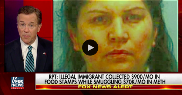 Illegal Immigrant Was Smuggling Drugs WHILE Being Paid Welfare By Obama