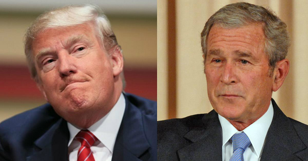 George W. Bush Finally Tells Us What He REALLY Thinks of Trump