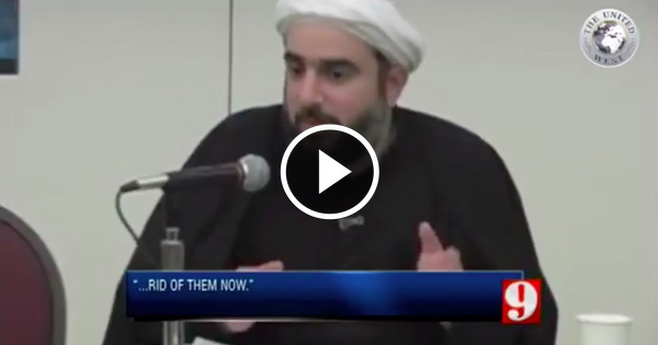 Muslim Imam in AMERICA Calls for Murder of Homosexuals