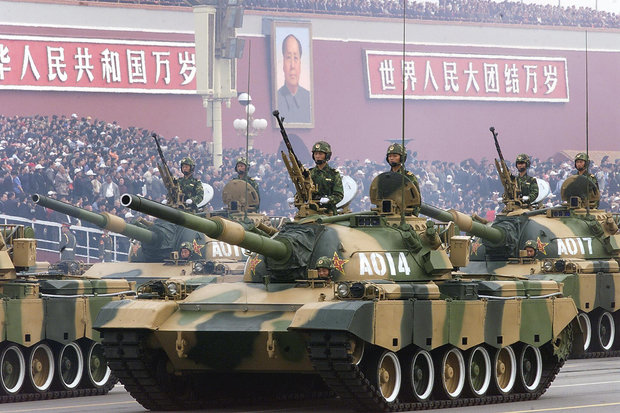 China prepares for war