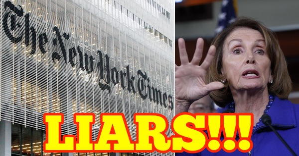 Pelosi, Cummings, NY Times Get AWEFUL News After Quoting FAKE Twitter Account
