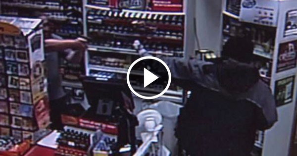 WATCH: Violent Thug Gunned Down by Quick-Draw Store Clerk