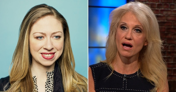 You Won't Believe What Chelsea Clinton Tweeted at Kellyanne Conway