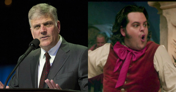 Franklin Graham Has Something to Say About Theater REFUSING to Show New Disney Movie