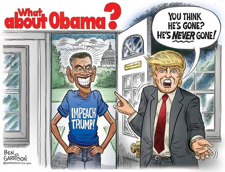 BRUTAL Cartoon Sums Up Obama's INSANE Post-Presidency