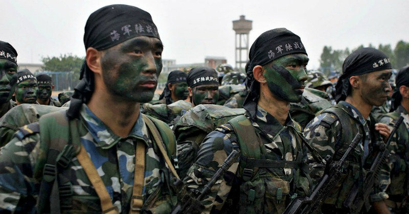 China has entered Afghanistan to fight ISIS