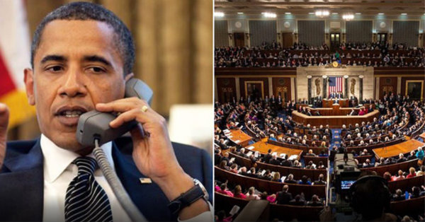 Obama Caught Wiretapping CONGRESS. Mainstream Media BLACKOUT