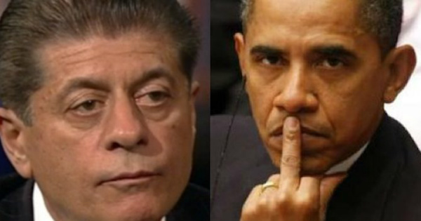 Judge Napolitano Has Some AWFUL NEWS for Barack Obama
