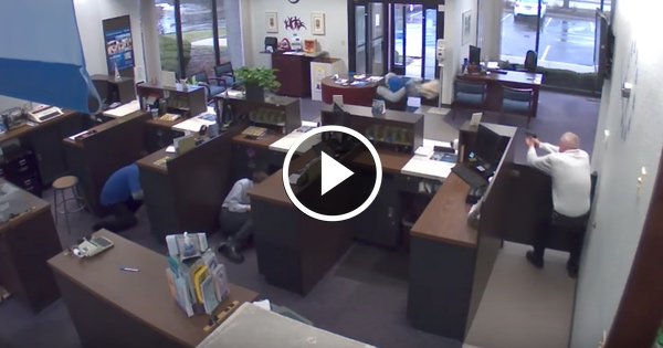 VIDEO: Good Guy With a Gun Stops Bad Guy With a Gun