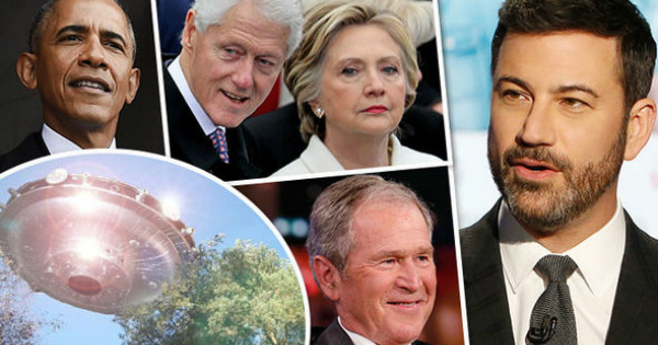 Bush, Clintons and Obama Asked About UFOs - Their Answers May Shock You