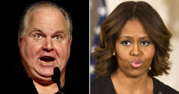 Rush Limbaugh EXPOSES Michelle Obama's DISGUSTING Past After She Attacks Trumps