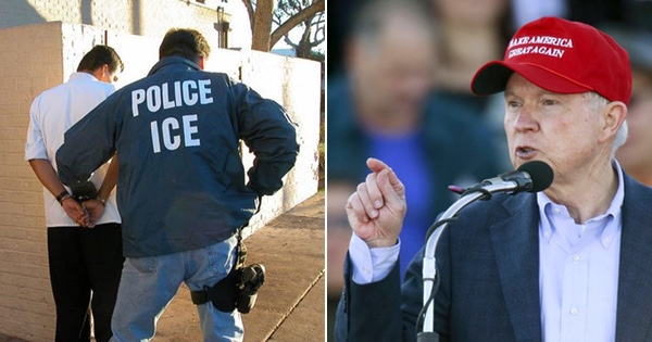 Jeff Sessions Announces Fresh CRACKDOWN on Illegals... ICE Goes on the Offensive!