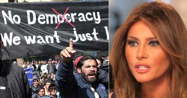Melania Has Had ENOUGH, Issues TERRIFYING Warning to Sharia Law Muslims