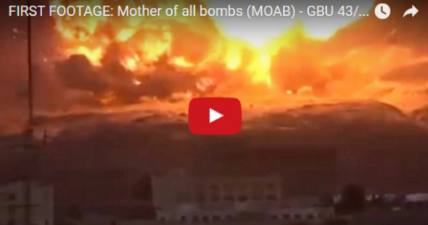 BREAKING: Number of ISIS Terrorists Killed by MOAB is In, and It's STUNNING