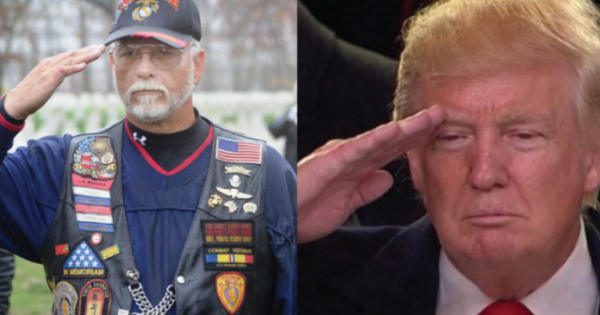 Veterans Across America are Saluting PROUDLY After What Trump Just Did For Them