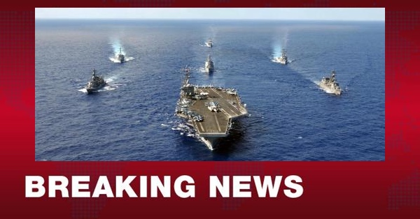 Trump Issues MASSIVE Orders to 1/3 of US Navy... First Time Since WW2!