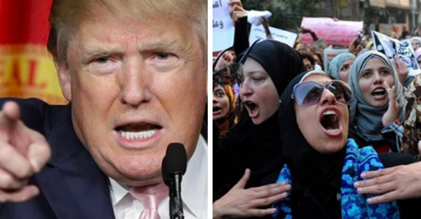 Muslim 'Refugees' Vow to Bring Sharia Law to America... Trump SHUTS THEM DOWN With 6 Words