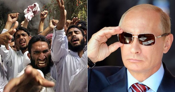 Putin DROPS THE HAMMER on Ungrateful Muslim Refugees